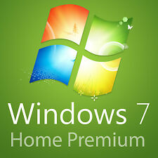 Windows 7 Home Premium 32bit  Full Version Product Key,COA,License ONLY