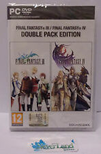 Gioco Game PC DVD-ROM Play FINAL FANTASY III IV 3 4 - Double Pack Edition Square