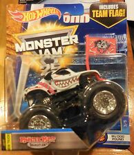 2017 Hot Wheels Monster Jam H CASE NEW TRUCK Monster Mutt Dalmatian