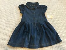 babyGap Baby Gap Chambray Denim Shirtdress dress 18-24 M NWT All Seasons