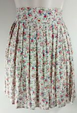 American Rag Pleated Floral Skirt NWT Woman's XL PERFECT FOR SPRING Dasies