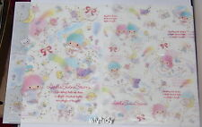 Sanrio Little Twin Stars Plastic A4 Folder,2pcs Made In Japan Limited #1 , #3a