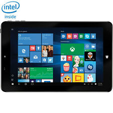 "Insignia NS-15MS0832B 8"" Intel Atom 32GB Windows 10 Wifi Tablet Black"