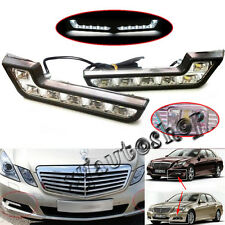 Waterproof Daytime Running Light Kit Mercedes Benz L Shape Euro 6-LED DRL 12V