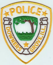 DOWNERS GROVE ILLINOIS POLICE DEPARTMENT PATCH