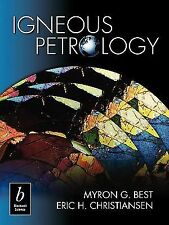 Igneous Petrology, Christiansen, Eric H, Best, Myron G., Acceptable Book