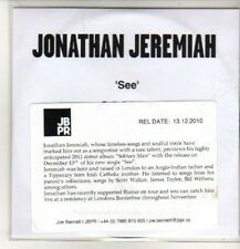 (CO258) Jonathan Jeremiah, See - 2010 DJ CD