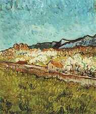 At The Foot Of The Mountains 1889 A3 Box Canvas