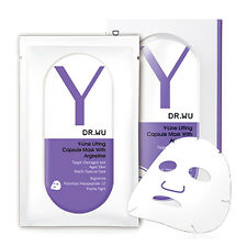 [DR. WU] Y-Line Lifting Capsule with Argireline Face and Neck Mask 2pcs/1box NEW
