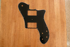 PICKGUARD BLACK 3 PLY FOR TELECASTER CLASSIC SERIES 72 DELUXE