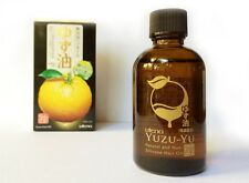 YUZU Hair Oil Wonderful Citrus Scent Non-Silicon - All-Natural - Made in Japan