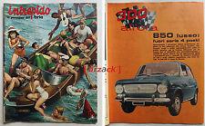 INTREPIDO 32 Universo 1968 - 300 All'ora FIAT 850 S Lusso MORETTI