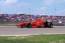 Michael SCHUMACHER, Ferrari 1996. Vintage 35mm slide. S211