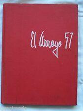 1957 HARLINGEN HIGH SCHOOL YEAR BOOK, HARLINGEN, TEXAS EL ARROYO