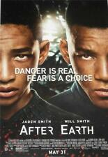 AFTER EARTH - 27x40 Original Movie Poster One Sheet MINT 2013 Will Smith Jaden