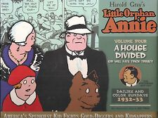 THE COMPLETE LITTLE ORPHAN ANNIE VOL. FOUR A HOUSE DIVIDED HARDCOVER ($49.99)