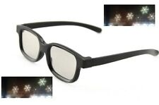 Diffraction Glasses - Snowflake Pattern - Rave Party Glasses