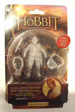 THE HOBBIT THE  LORD OF THE RINGS INVISIBLE BILBO BAGGINS ACTION FIGURE LICENSED