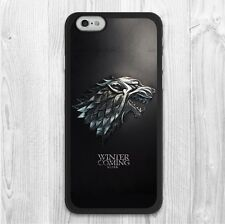 carcasa Game Of Thrones House Stark White Wolf Protective Cover Case iPhone 6