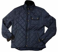 [76 99] NWD Polo Ralph Lauren Mens Quilted Insulated Winter Jacket Navy Large