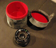 WIDE F= 24 MM Lens FOTOMAT SERIES 35 MC AUTO, SUPER - 1: 2.8 PENTAX MOUNT W/CASE