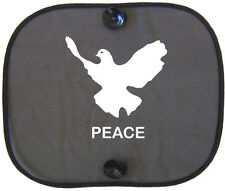 Peace friedenstaube protección solar coche