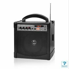 NEW Pyle PWMA220BM Portable PA Speaker Amp & Mic System  Bluetooth Streaming