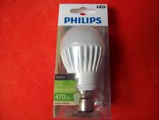 Philips MyVision B22 Bayonet Fit 9W 470lm LED Light Bulb P.