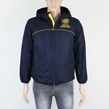 GAP Boys Size 13 yrs Mens XS Blue Showerproof Fleece Lined Jacket