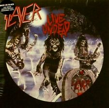 "SLAYER ""LIVE UNDEAD/HAUNTING THE CHAPEL"" VINYL LP LTD REISSUE NEW"