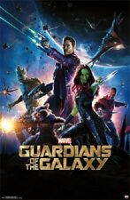 2014 MARVEL COMIICS GUARDIANS OF THE GALAXY ONE SHEET POSTER PRINT 22x34 NEW