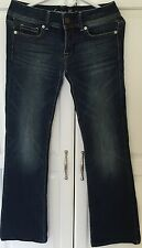 American Eagle AE Stretch Blue Jeans Size 2 Regular Excellent Condition