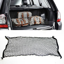Car Rear Cargo Trunk Net Cover Fixed Holder Black Color for Universal Car