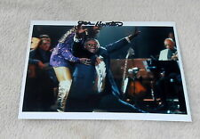 Joe Hunter (+2007) *Funk Brothers - Motown*, original signed Photo 13x18, RAR