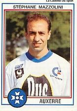 N°012 STEPHANE MAZZOLINI AJ.AUXERRE VIGNETTE PANINI FOOTBALL 93 STICKER 1993