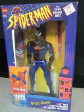 "SPIDER-MAN ANIMATED SERIES SPIDER-MAN WALL HANGING 10"" FIGURE DELUXE ED. 1994"