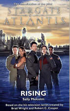 Stargate Atlantis: Rising, By Sally Malcolm,in Used but Acceptable condition
