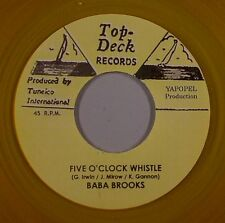BABA BROOKS - FIVE O' CLOCK WHISTLE (TOP TECK) 1963
