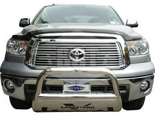 BGT 07-16 TOYOTA TUNDRA FRONT BULL BAR WITH PLATE BUMPER PROTECTOR GUARD S/S