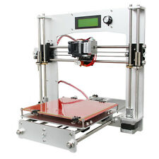 Print 5 types materials Full Aluminum Frame Prusa I3 3D Printer Sanguinololu LCD