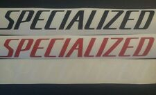 Specialized vinyl cut sticker / decal, 460mm x 58mm, choose your own colour.