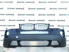 BMW X3 E83 LCI 2007-2010 FRONT BUMPER IN BLACK [B715]