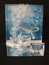 "SWAROVSKI ""WONDERS OF THE SEA-ETERNITY""-CLEAR-WITH TITLE PLAQUE - #0726028 - NIB"