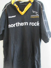 2001-2002 Newcastle FALCHI Rugby Union HOME SHIRT adulto medium (37853)