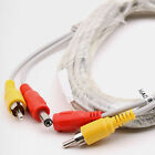 CCTV Cable 1 RCA(Phono) Video & Power DC5.5 M-F 5M/ 16.4ft security camera Line