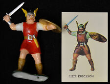 Louis Marx Leif Ericsson Viking Mint box 1 error Warriors of the World.
