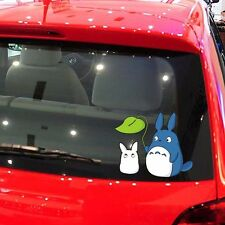 Totoro Cat Leaf Shelter Rain Random Body Window Truck Car Stickers Wall Decals