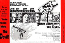 SHAKE HANDS WITH THE DEVIL pressbook, James Cagney, Don Murray, Dana Wynter
