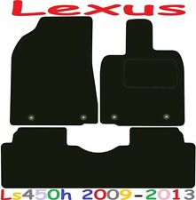Tailored Deluxe Quality Car Mats Lexus Rx450H 2009-2013 ** Black **