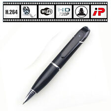 Wifi IP HD 720P Remote Wireless Security Spy Hidden Pen Camera Network Cam H.264